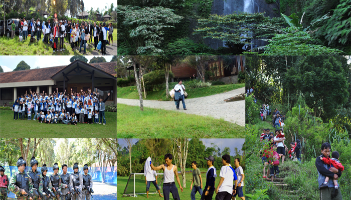 Bandung trip with family and team
