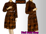 Dress batik motif klasik BTSJ01