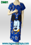 Baju daster mickey blue DM01
