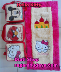 Sajadah anak hello kitty