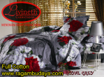 Sprei cotton Royal Grey