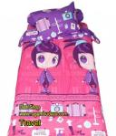 Sprei kartun my love single 4 – travel theme