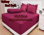 Sprei edisi 2015 Vallery Dark Red