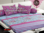 Sprei my love Lilac