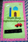 Sajadah Anak Motif Travel