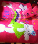 Karpet Karakter Hello Kitty Green