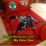 Karpet Karakter Spiderman Red