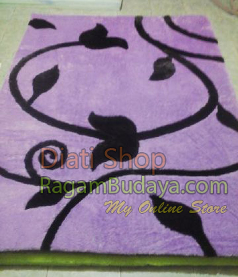 karpet bulu set murah